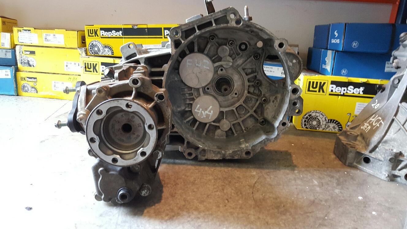 Getriebe VW Golf, 1.9 TDI 4Motion, 77 kW, 6-Gang / Skoda Octavia 1.9 TDI, 6-Gang Synhro 4X4 - FWZ, JLS